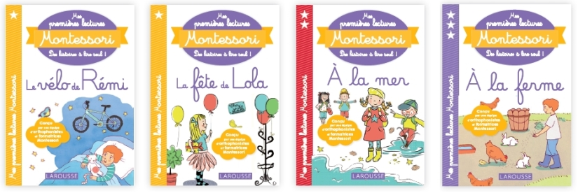 Livres Larousse Montessori